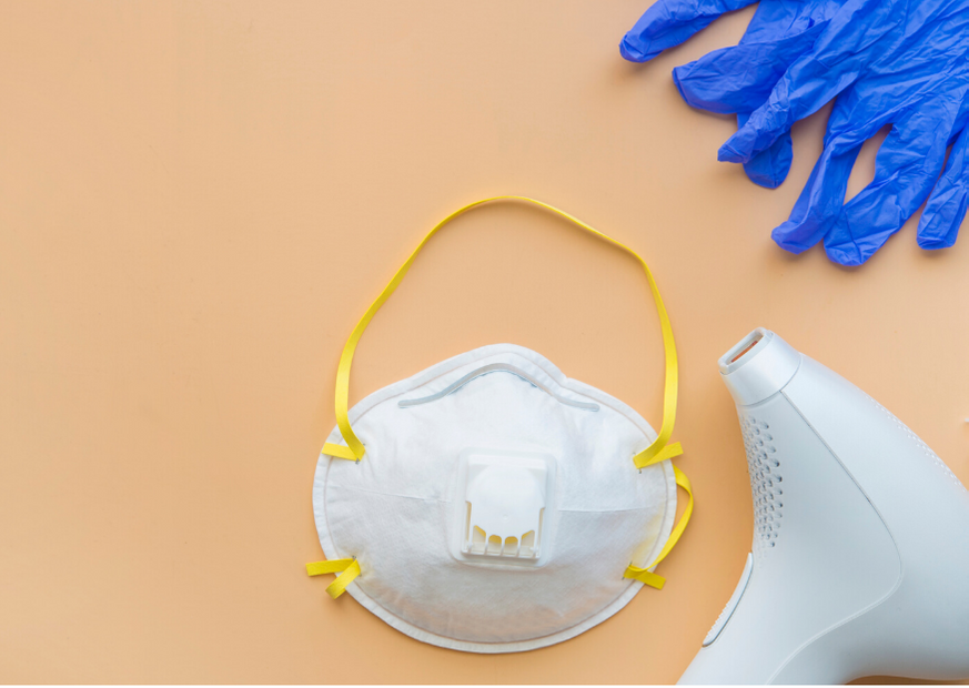 Protective equipment in salons