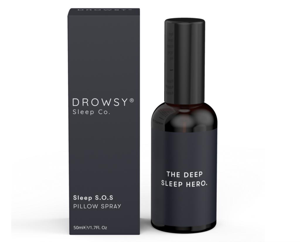 Sleep hacks Drowsy SOS Pillow Spray