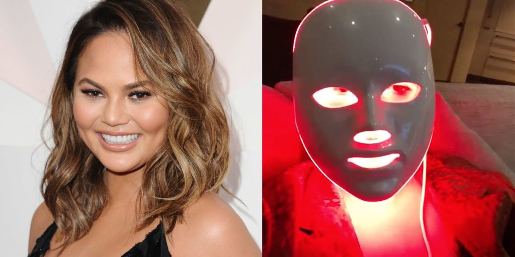 Celeb fans of light therapy technology